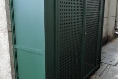 Armario para calderas de gas en cascada