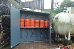 Caseta de botellas para 12 unidades UD-110 con regulación incorparada