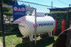 Depósito 2450 litros para local comercial (restaurante)