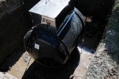 Depósito enterrado de 1000 litros